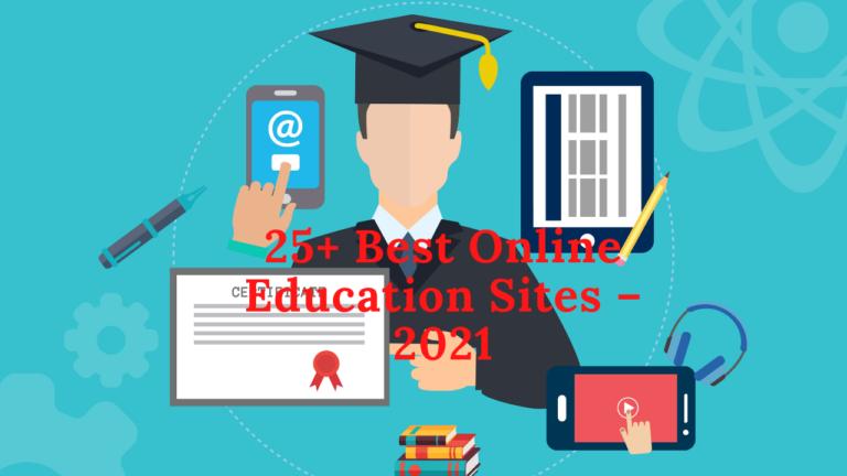 25+ Best Online Education Sites – 2021